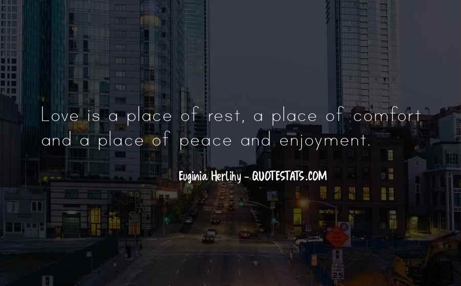 Comfort Quotes And Sayings #1875462
