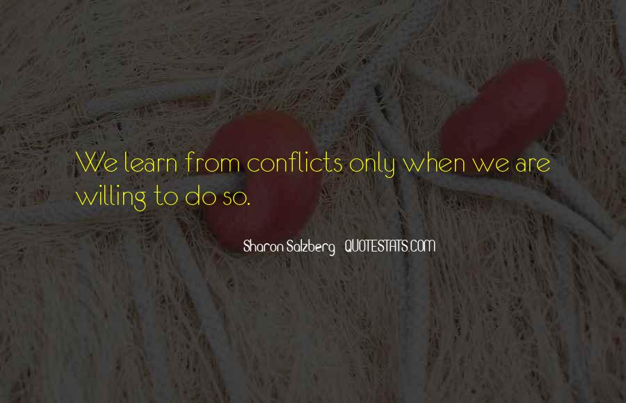 Conflicts Quotes And Sayings #1680