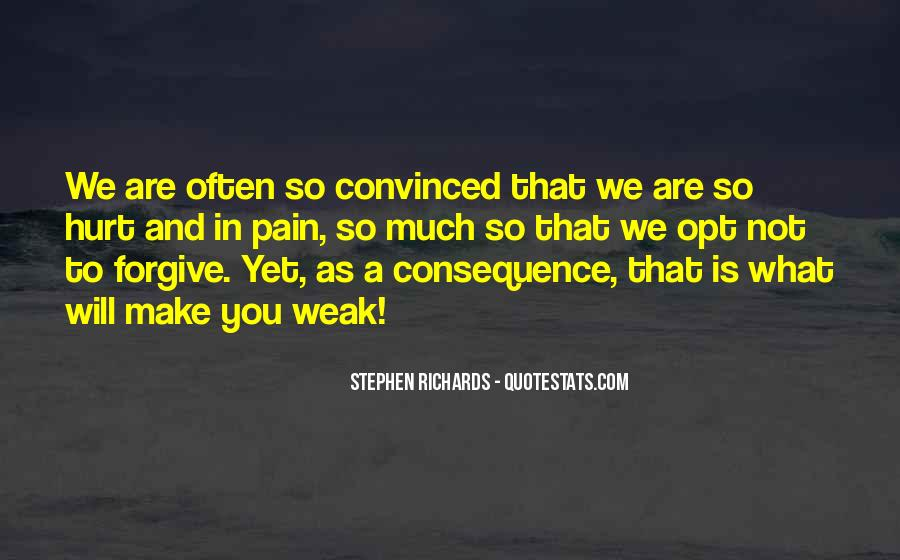 Consequence Quotes And Sayings #861750