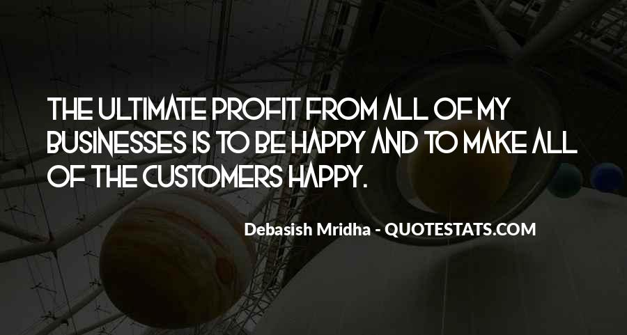 Customers Quotes And Sayings #1050154