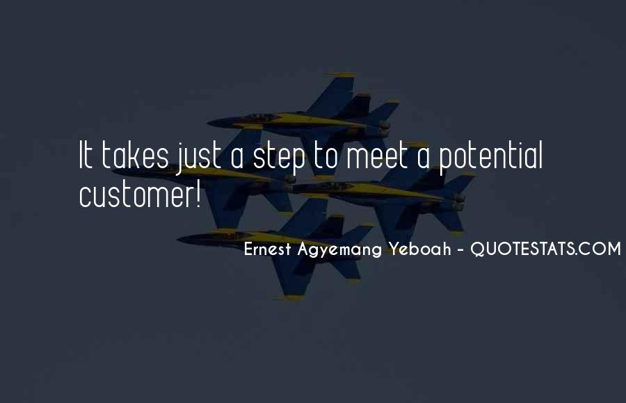 Customers Quotes And Sayings #356404