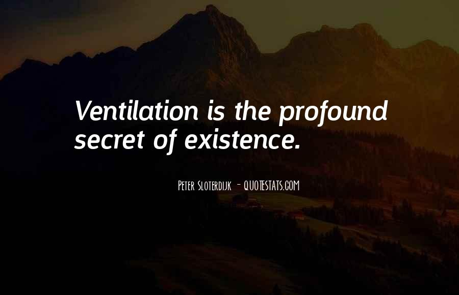 Quotes About Ventilation #1137067