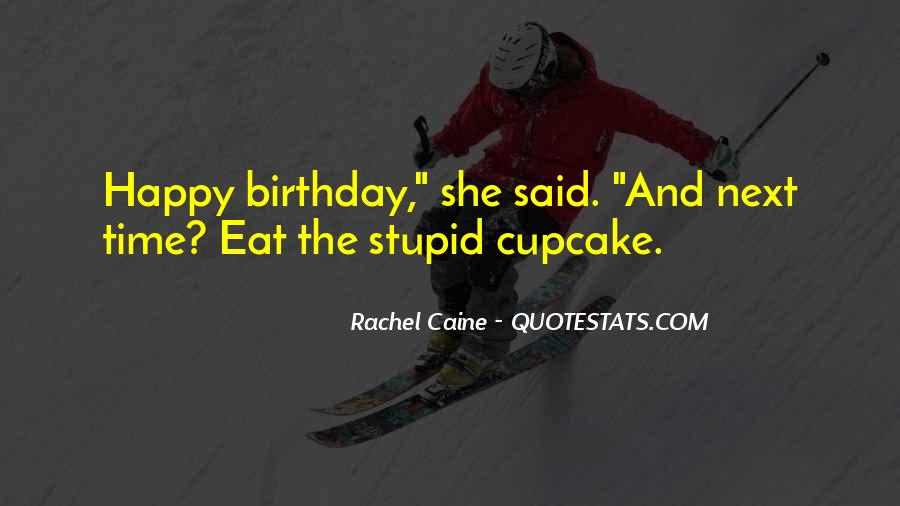 Happy Birthday Cupcake Sayings #1335272