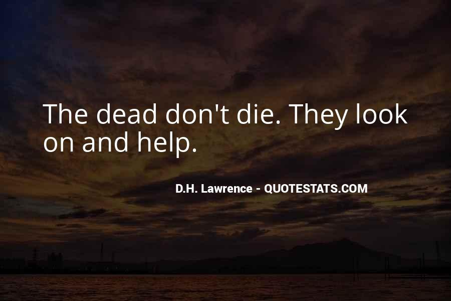 Dead Quotes And Sayings #1031538