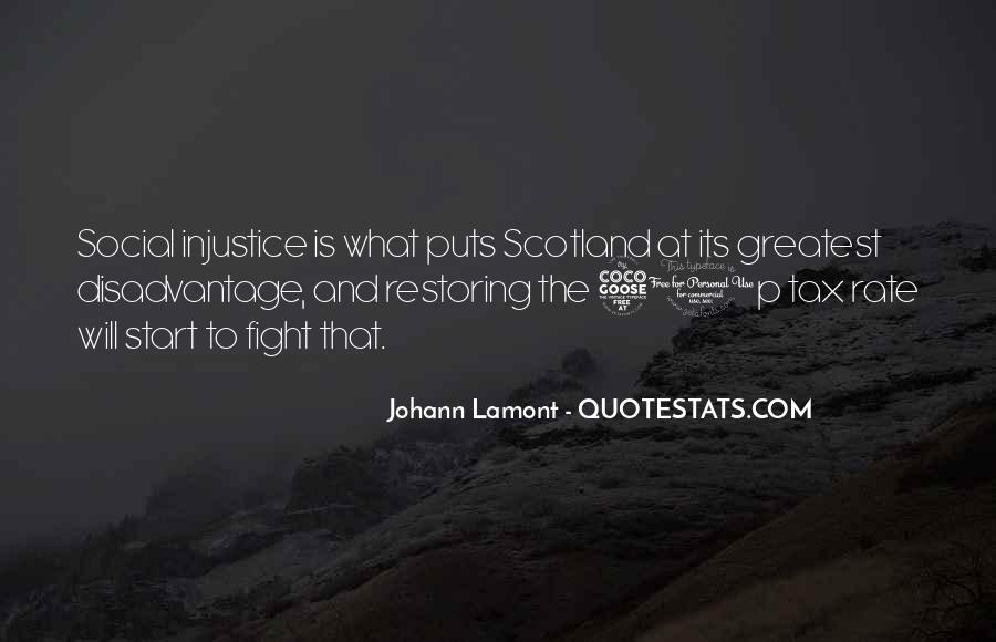 Quotes About Social Injustice #1049508