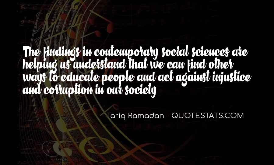 Quotes About Social Injustice #1167758
