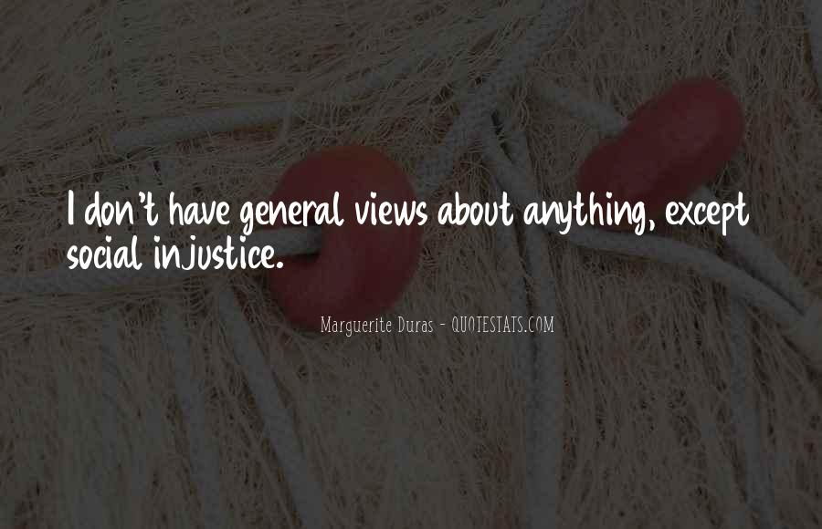 Quotes About Social Injustice #1414500