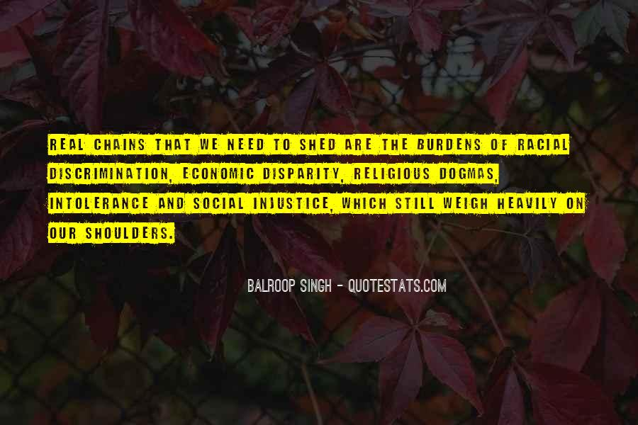 Quotes About Social Injustice #1831677