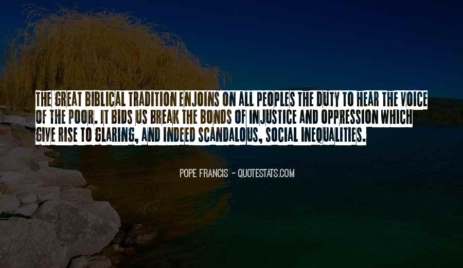 Quotes About Social Injustice #930178