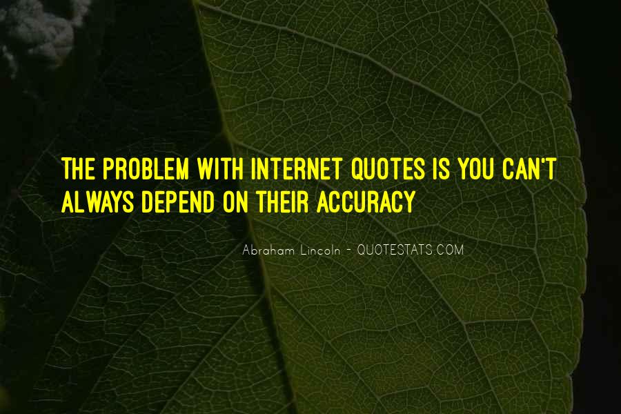 Depend Quotes Sayings #1503687