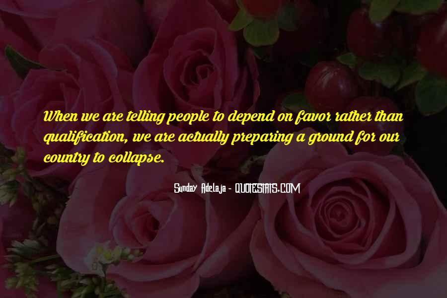 Depend Quotes Sayings #1546105