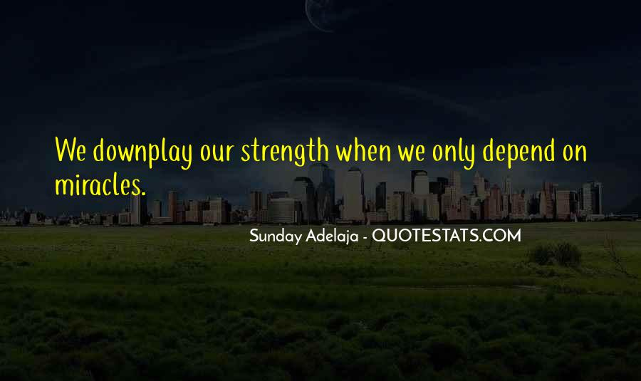 Depend Quotes Sayings #1605683