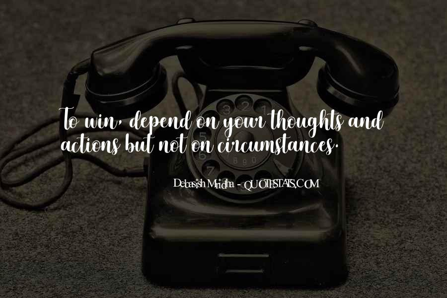 Depend Quotes Sayings #701152