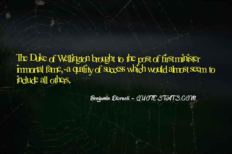 Duke Wellington Sayings #1041387