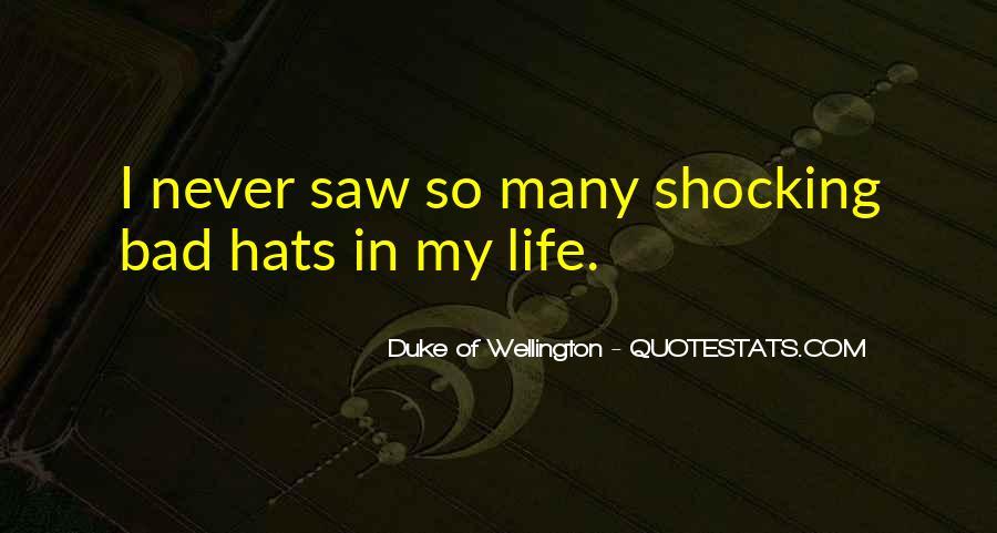 Duke Wellington Sayings #1065477