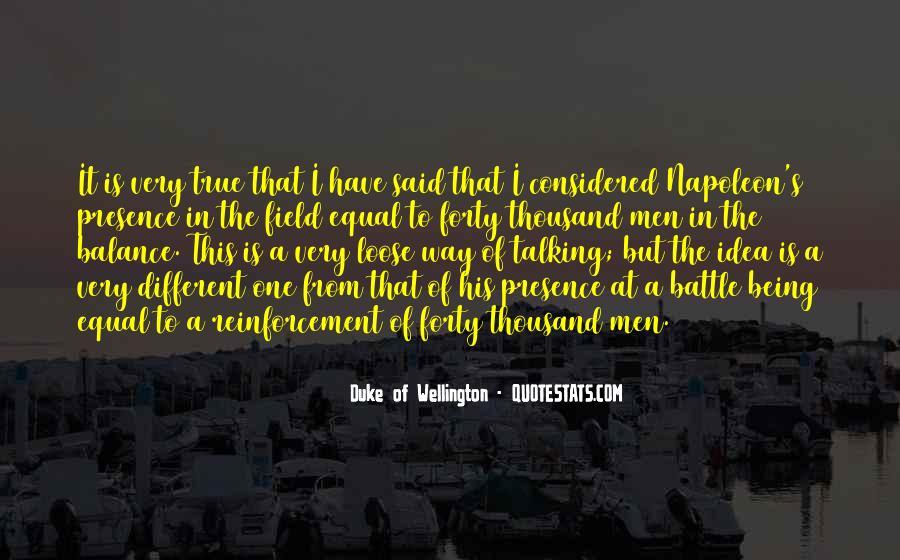 Duke Wellington Sayings #1207767