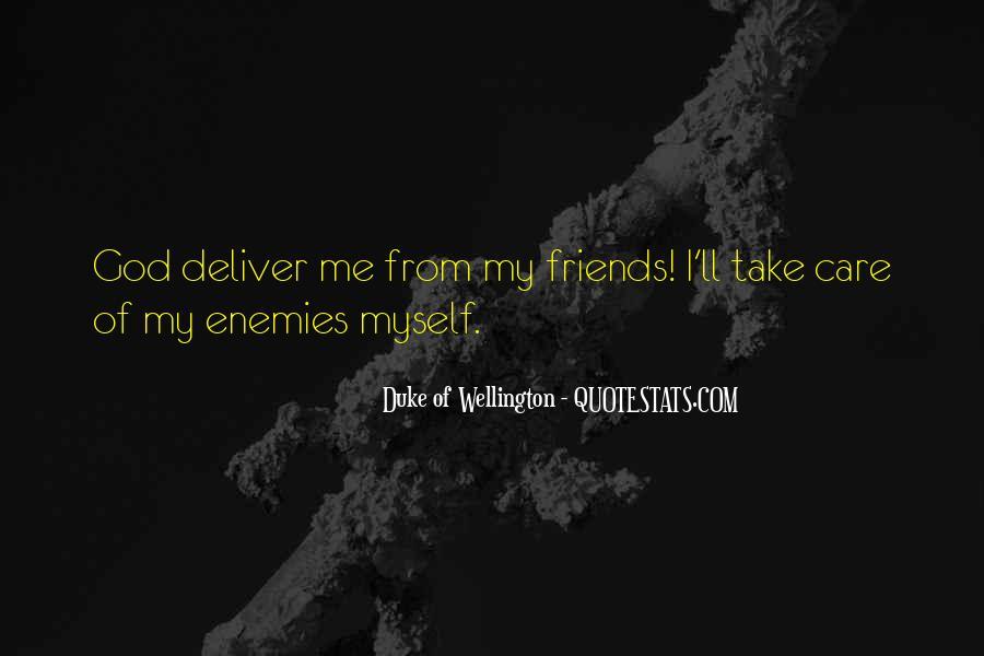 Duke Wellington Sayings #1233643
