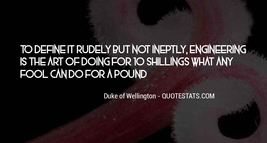 Duke Wellington Sayings #1406396