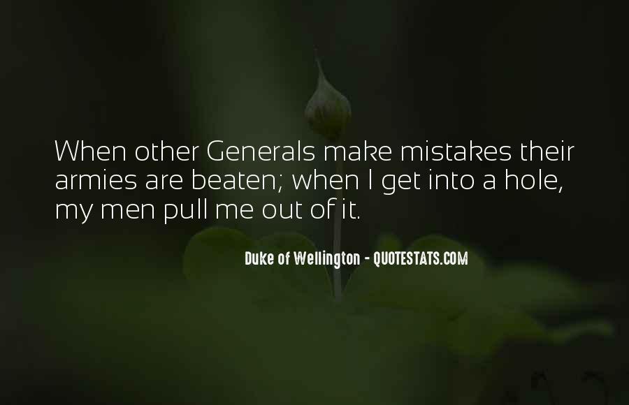 Duke Wellington Sayings #1486088