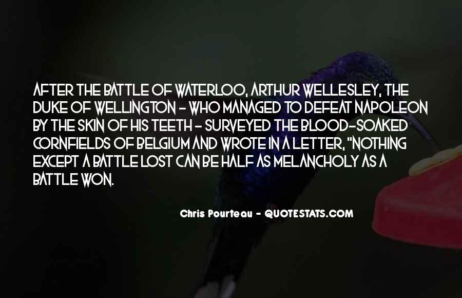 Duke Wellington Sayings #1510390