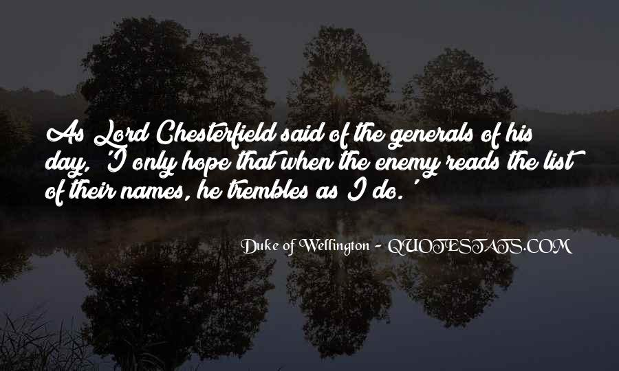 Duke Wellington Sayings #1513638