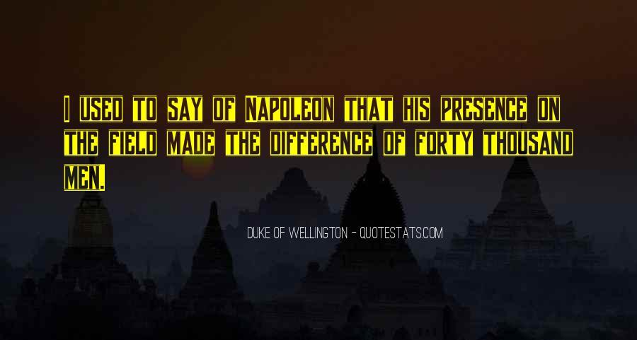 Duke Wellington Sayings #1595777