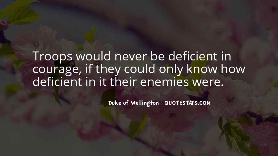 Duke Wellington Sayings #1636670