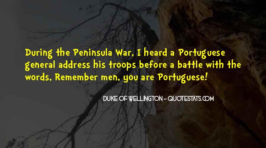 Duke Wellington Sayings #1727407