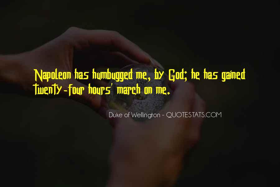 Duke Wellington Sayings #385899