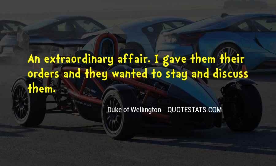 Duke Wellington Sayings #403241
