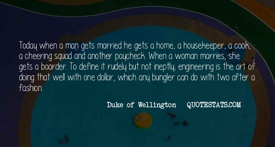 Duke Wellington Sayings #455428