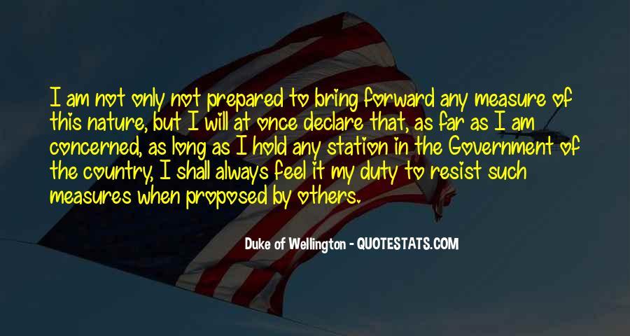 Duke Wellington Sayings #719747