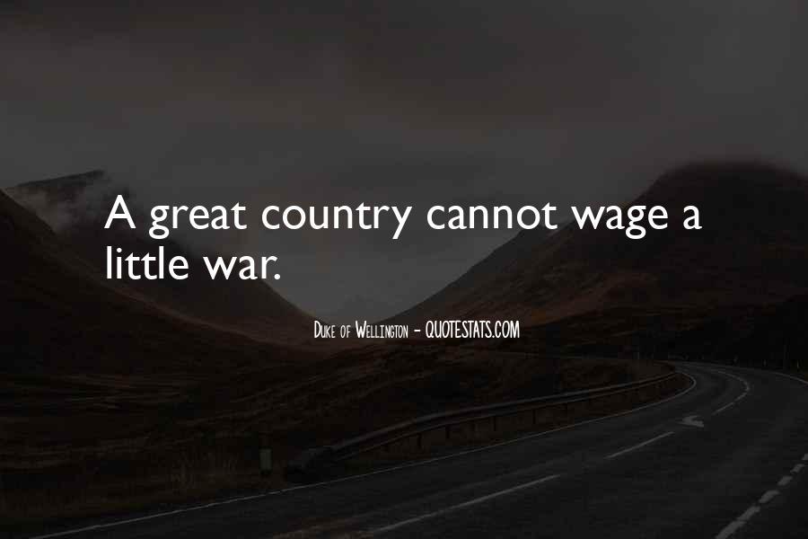 Duke Wellington Sayings #806296