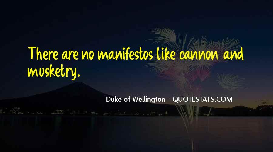 Duke Wellington Sayings #868255