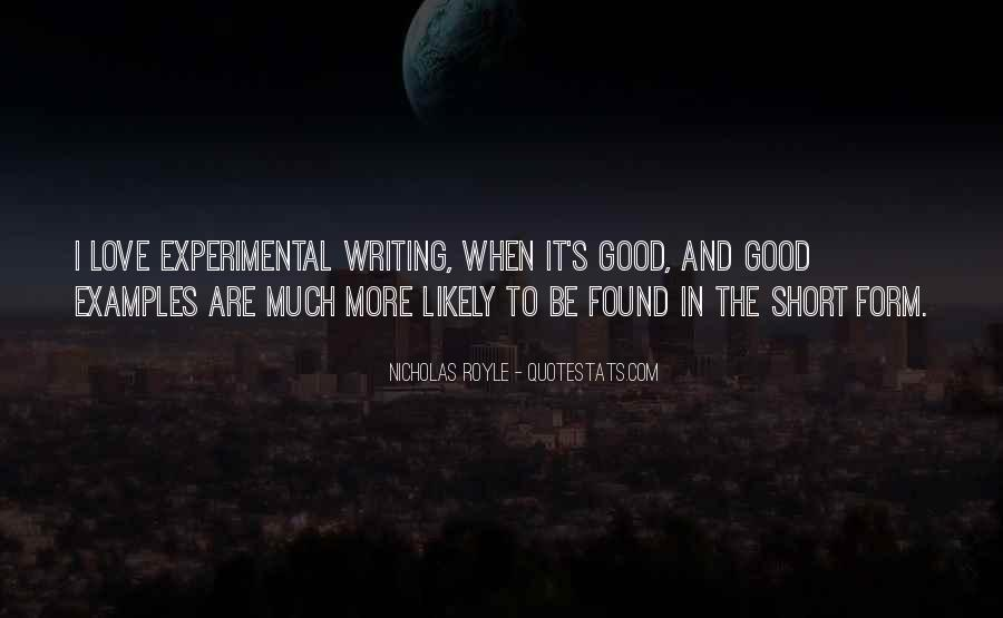 Really Good Short Sayings #18226