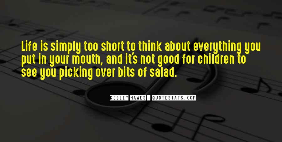 Really Good Short Sayings #221153