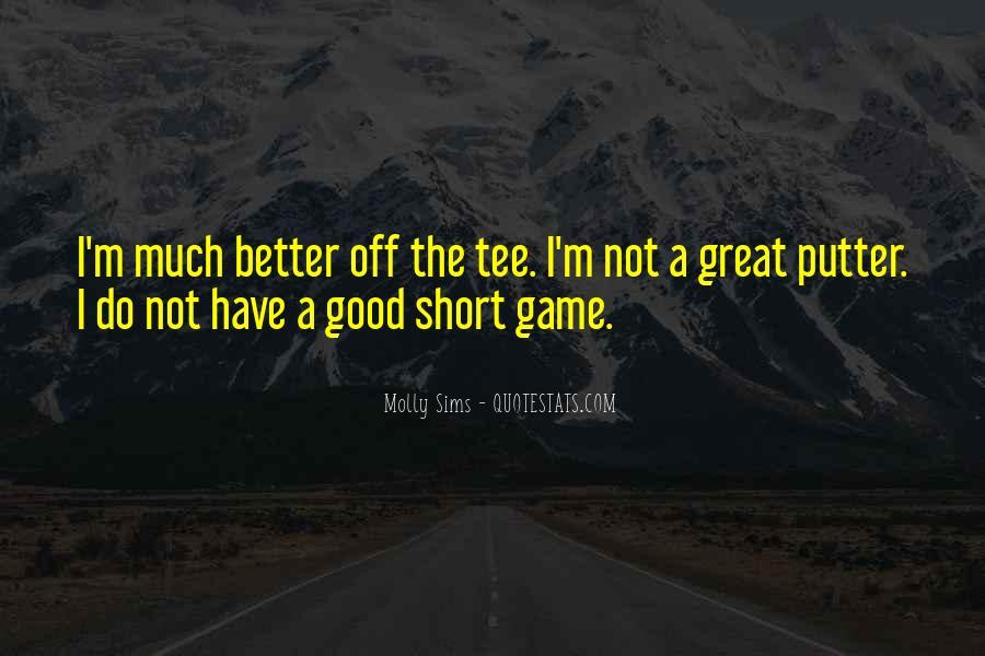 Really Good Short Sayings #311287