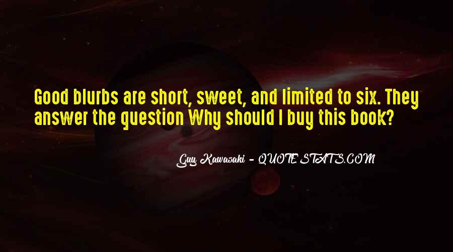 Really Good Short Sayings #5475