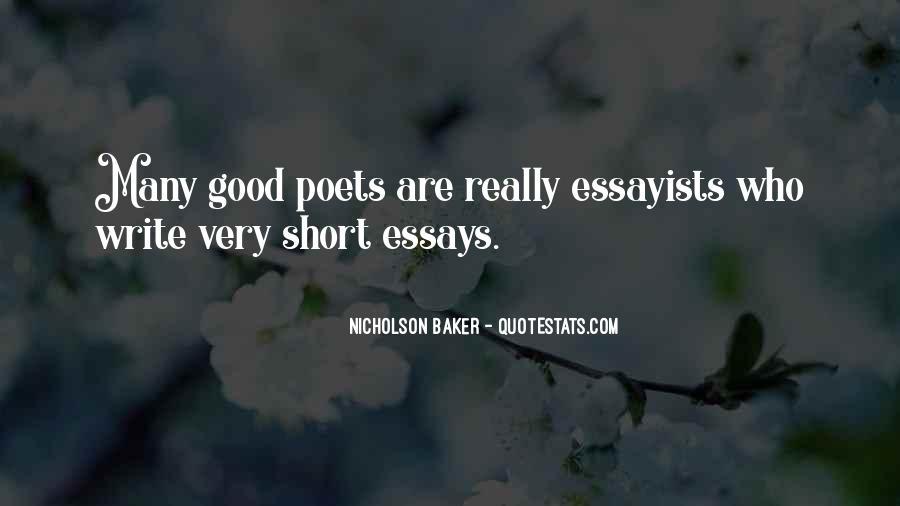Really Good Short Sayings #88604