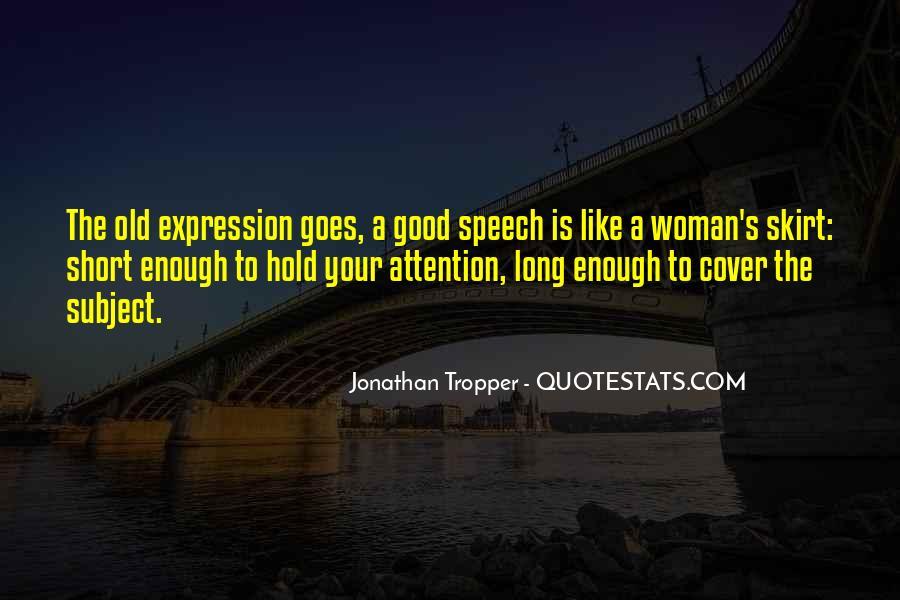 Really Good Short Sayings #97831