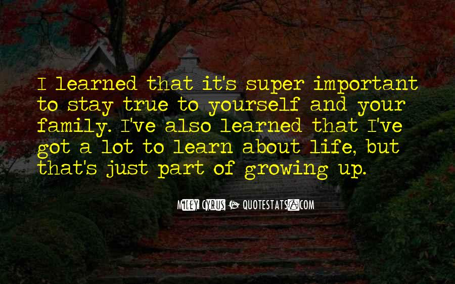 Growing Family Sayings #138879