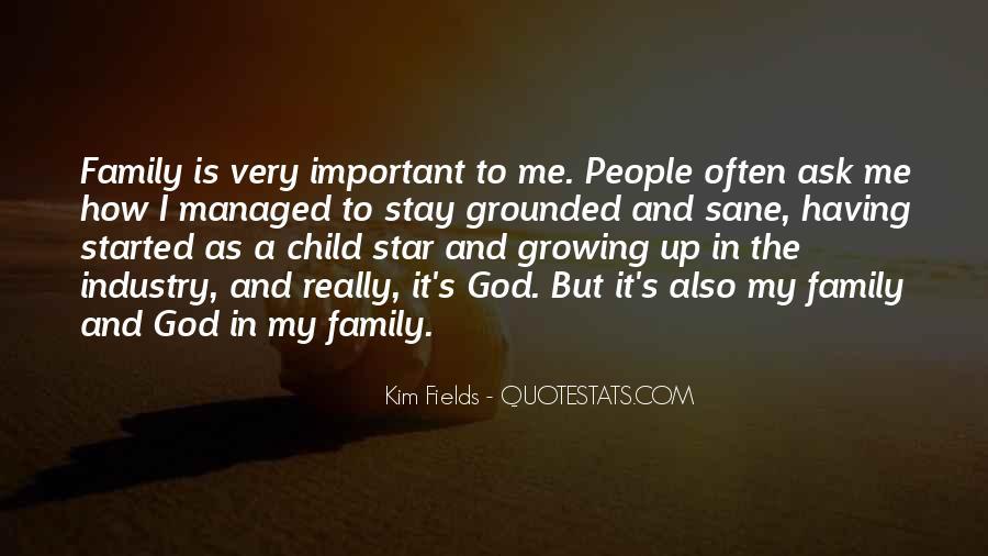 Growing Family Sayings #335726