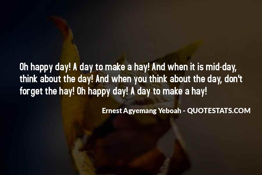 Hay Quotes Sayings #539975