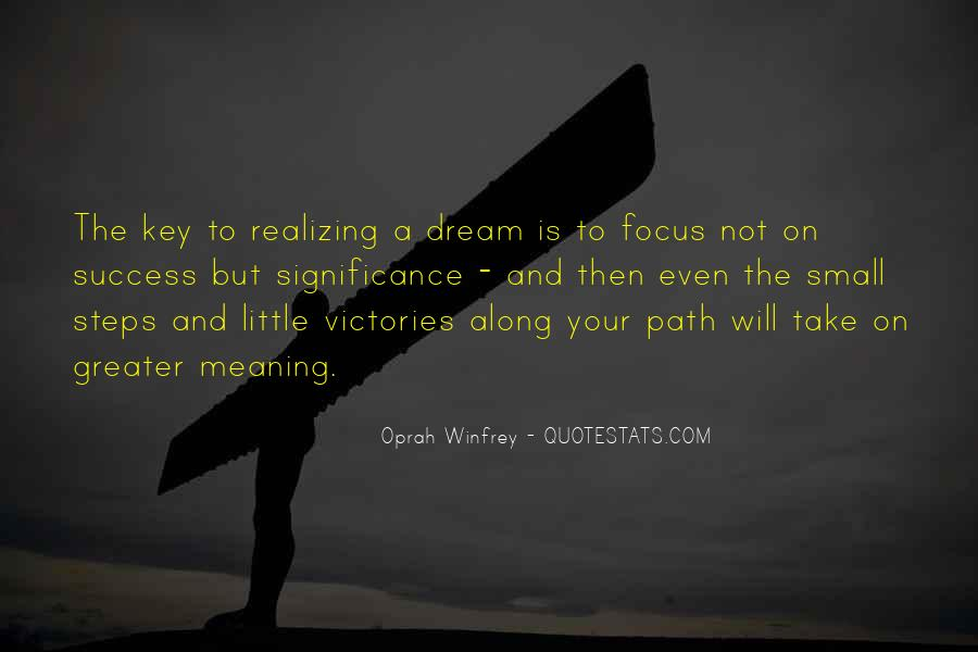 Quotes About Success And Meaning #1838039