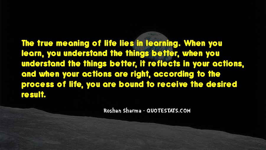 Quotes About Success And Meaning #907799