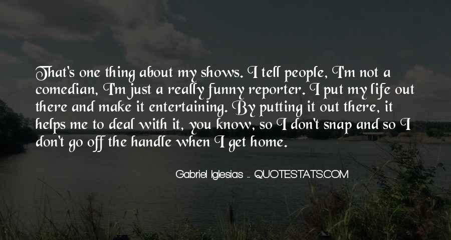 Funny Reporter Sayings #584787