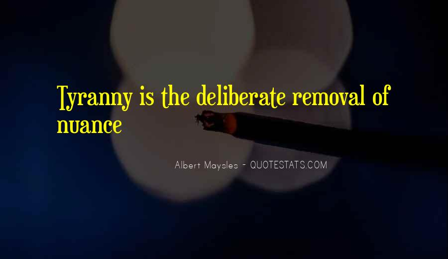 Quotes About Removal #650286