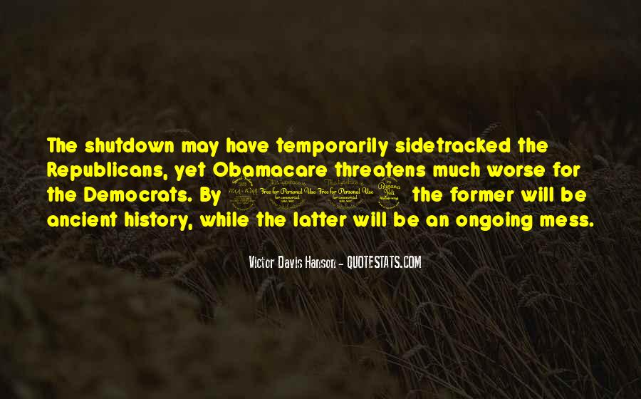 Quotes About Shutdown #1399029