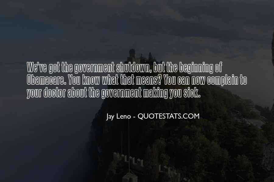 Quotes About Shutdown #166266