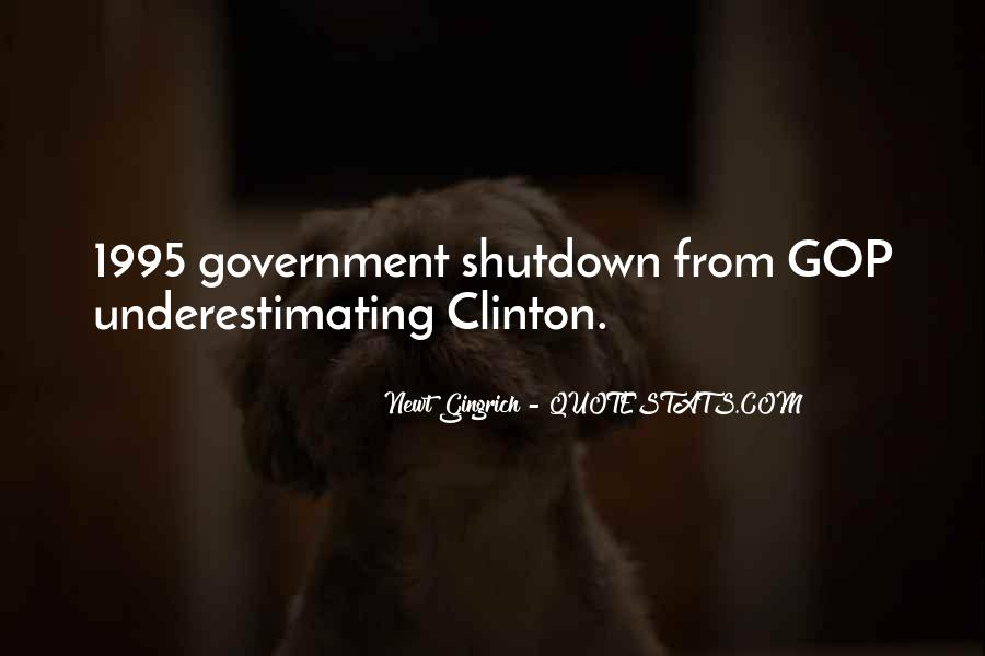 Quotes About Shutdown #1723096